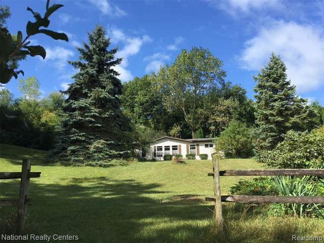14750 Sharon Hollow Road, Manchester Twp, MI 48158 (#2200070154) :: Keller Williams West Bloomfield