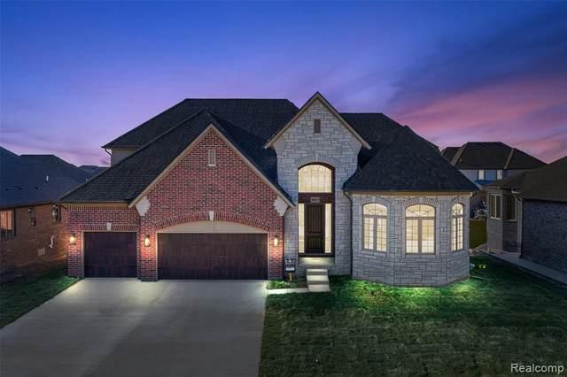 50025 N Majestic Drive, Macomb Twp, MI 48044 (#2200077434) :: The Alex Nugent Team | Real Estate One