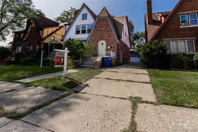 17139 Prairie Street, Detroit, MI 48221 (#2200077461) :: The BK Agency