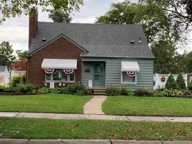 501 N Lafayette Street, Dearborn, MI 48128 (#2200081695) :: BestMichiganHouses.com