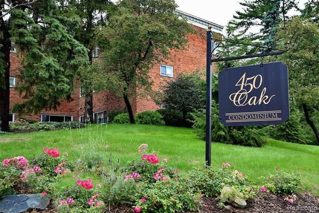 450 Oak Ave. #100, Birmingham, MI 48009 (MLS #2200081795) :: The John Wentworth Group