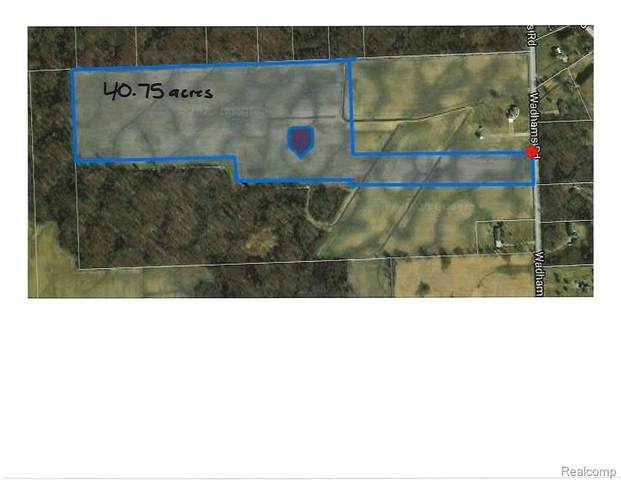 V/L Wadhams Road, ST. CLAIR TWP, MI 48079 (#2200082024) :: Robert E Smith Realty