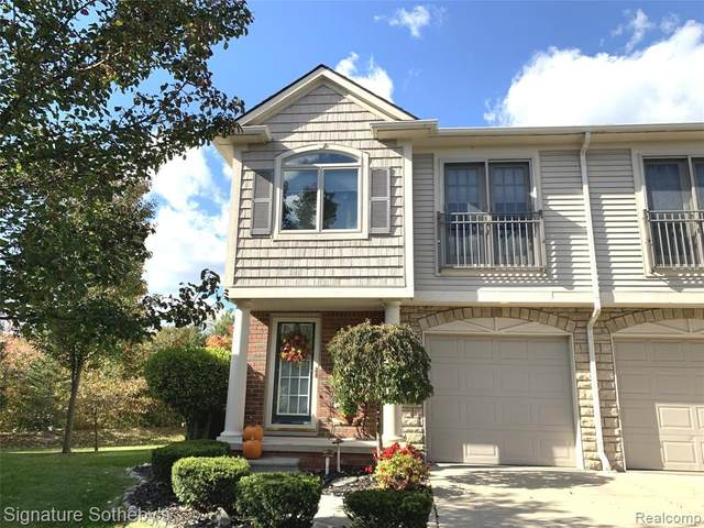 50564 Beechwood Crt #23, Plymouth, MI 48170 (#2200083891) :: Novak & Associates
