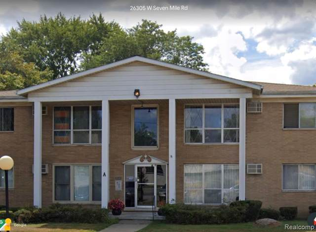26305 W 7 MILE RD # A-102, Redford Twp, MI 48240 (#2200084352) :: Robert E Smith Realty