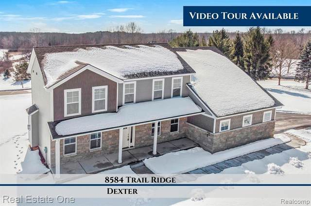 8584 Trail Ridge, Webster Twp, MI 48130 (#2200084759) :: BestMichiganHouses.com