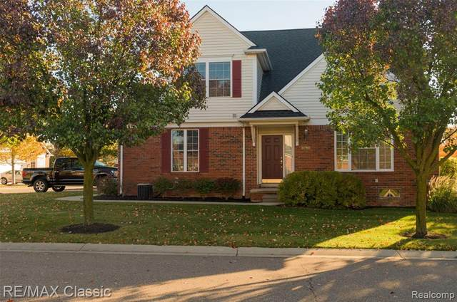 41786 Brownstone Drive, Novi, MI 48377 (#2200085150) :: Keller Williams West Bloomfield