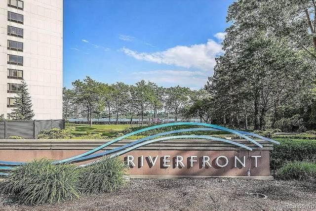 300 Riverfront Drive 2I, Detroit, MI 48226 (#2200085769) :: The Mulvihill Group