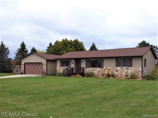 392 Gaffney, Highland Twp, MI 48356 (MLS #2200085903) :: The John Wentworth Group