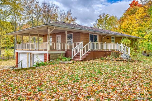 4025 E Howell Road, Leroy Twp, MI 48892 (#2200087235) :: The Alex Nugent Team | Real Estate One