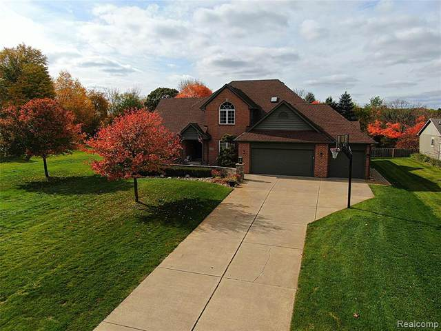 529 Maplewood Lane, Wixom, MI 48393 (#2200087301) :: BestMichiganHouses.com