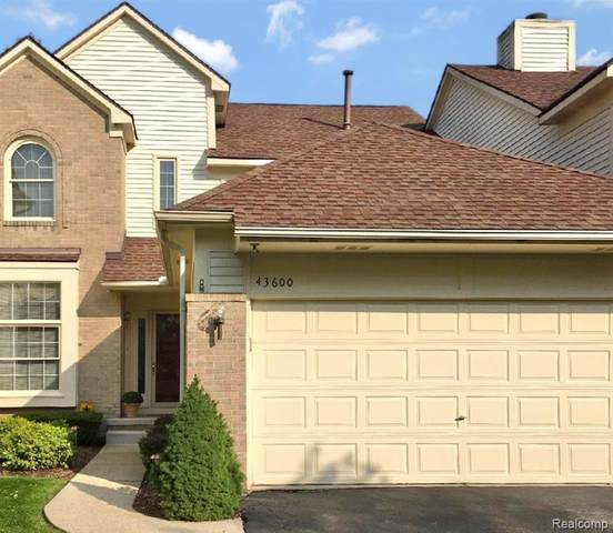 43600 Wendingo Court, Novi, MI 48375 (#2200087860) :: Robert E Smith Realty