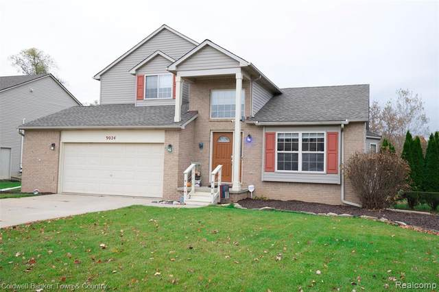 9024 Posey Drive, Northfield Twp, MI 48189 (MLS #2200088851) :: The Toth Team