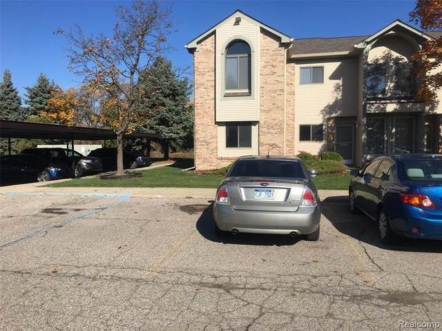 42542 Lilley Pointe Drive, Canton Twp, MI 48187 (#2200088873) :: Alan Brown Group