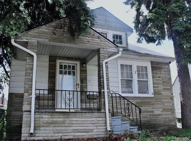 578 Wesbrook St Street, Pontiac, MI 48340 (#2200089210) :: The Mulvihill Group