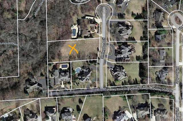 18197 Shelley Pond Court, Northville Twp, MI 48168 (#2200089502) :: Keller Williams West Bloomfield