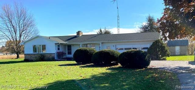 2049 W Stanley Road, Mt. Morris Twp, MI 48458 (#2200089522) :: Keller Williams West Bloomfield