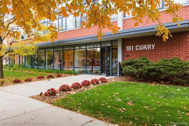 101 Curry Avenue #330, Royal Oak, MI 48067 (#2200089788) :: Robert E Smith Realty
