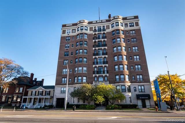 2900 E Jefferson Avenue D 100, Detroit, MI 48207 (#2200090059) :: Robert E Smith Realty