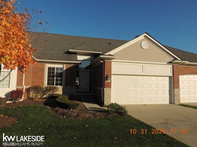 49270 Village Pointe Unit #131, Shelby Twp, MI 48315 (#58050027976) :: The Alex Nugent Team | Real Estate One