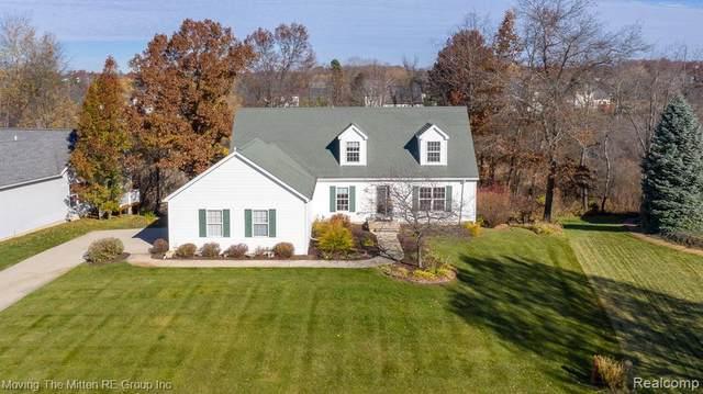 1650 S Creek Drive, Milford Twp, MI 48380 (#2200091090) :: Duneske Real Estate Advisors
