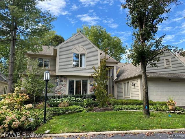 87 Boulder Lane, Bloomfield Hills, MI 48304 (#2200091563) :: The Alex Nugent Team | Real Estate One