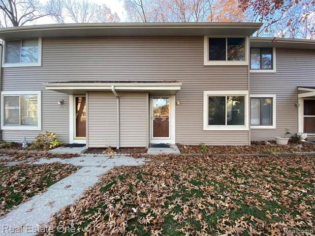 616 Rickett Rd Unit #117, Brighton, MI 48116 (#2200092938) :: The Mulvihill Group
