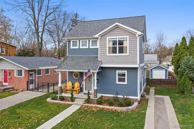 1216 Etowah Avenue, Royal Oak, MI 48067 (#2200094891) :: The Alex Nugent Team | Real Estate One