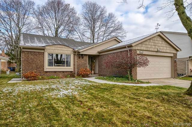 14935 Rotunda Drive, Sterling Heights, MI 48313 (#2200095690) :: The Alex Nugent Team | Real Estate One