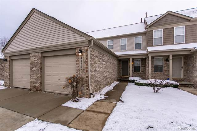 4572 Hunters Circle E, Canton Twp, MI 48188 (#2200097161) :: The Alex Nugent Team | Real Estate One