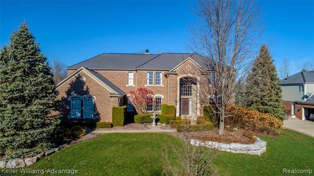 49498 Waterstone Estates Circle, Northville Twp, MI 48168 (#2200097497) :: The Alex Nugent Team | Real Estate One