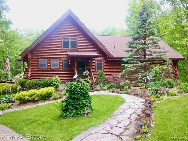 12660 Woodland Trail, Springfield Twp, MI 48350 (#2200101158) :: The Alex Nugent Team | Real Estate One