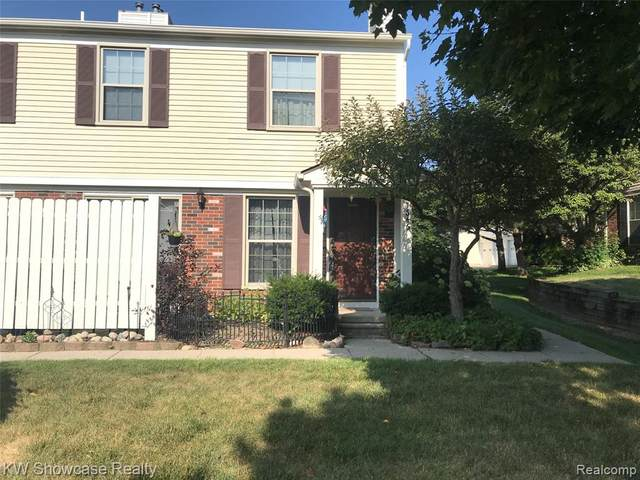 7646 Woodview Drive, Waterford Twp, MI 48327 (#2210000107) :: The Mulvihill Group