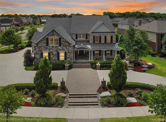 24844 Mallard Trail Lane, Novi, MI 48374 (#2210002626) :: Duneske Real Estate Advisors
