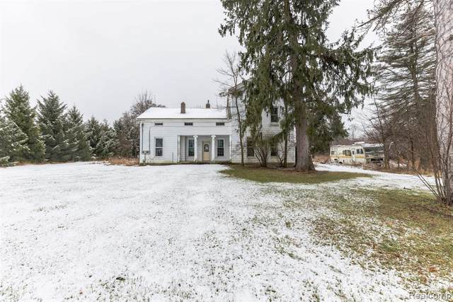 11144 Plains Highway, Hamlin Twp, MI 48827 (#2210002658) :: Robert E Smith Realty