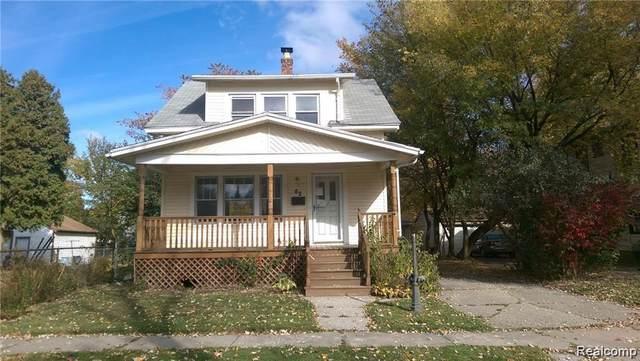 62 W Bernhard Avenue, Hazel Park, MI 48030 (MLS #2210003482) :: The John Wentworth Group