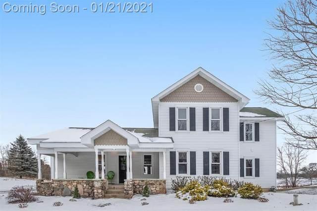 3883 Musbach Road, Sylvan Twp, MI 49240 (#543278371) :: Keller Williams West Bloomfield