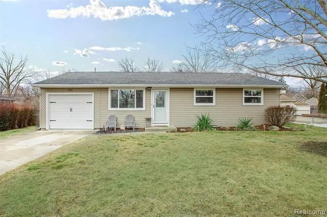 3120 Longview Avenue, Rochester Hills, MI 48307 (#2210004951) :: The Alex Nugent Team | Real Estate One