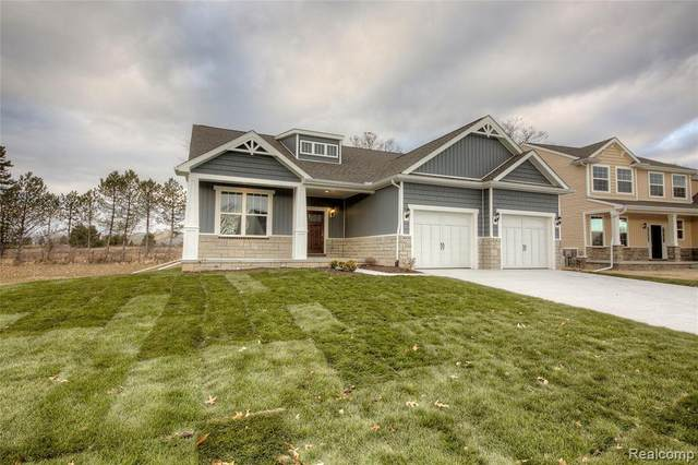 Homesite 142 Trestle Dr, Marion Twp, MI 48843 (MLS #2210005698) :: The Toth Team