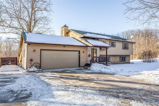 9995 Byron Road, Cohoctah Twp, MI 48855 (#2210007408) :: The Mulvihill Group