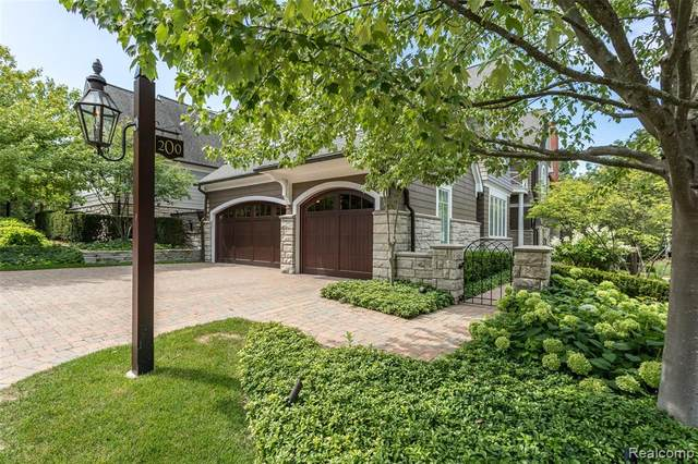 200 Woodland Villa Court, Birmingham, MI 48009 (#2210009041) :: Duneske Real Estate Advisors