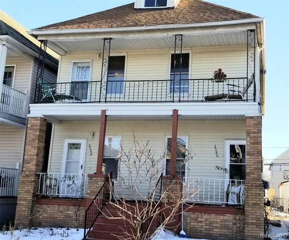 2386 Holmes Street, Hamtramck, MI 48212 (#2210009213) :: The Alex Nugent Team | Real Estate One