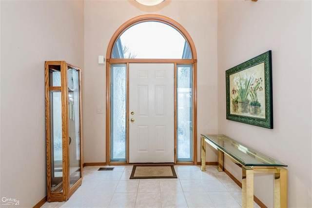 45344 Diamond Pond Dr, Macomb Twp, MI 48044 (#58050034084) :: The Alex Nugent Team | Real Estate One