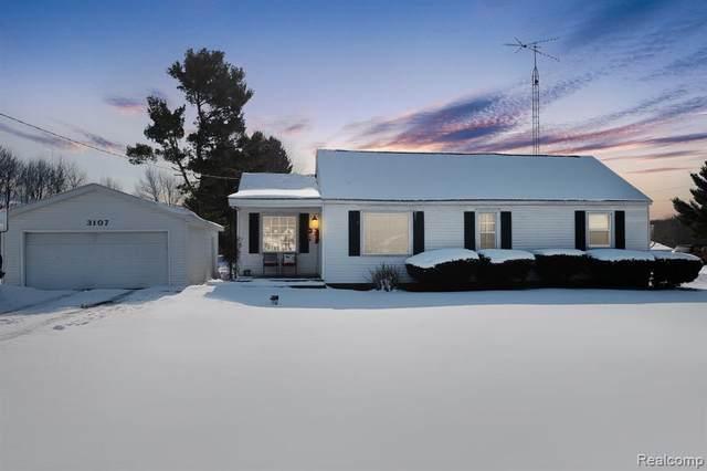 3107 W Dodge Road, Vienna Twp, MI 48420 (#2210009524) :: The Alex Nugent Team | Real Estate One