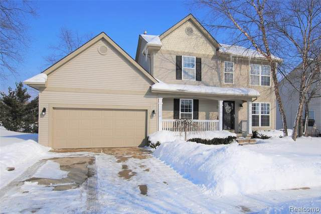 3885 Snowden Lane, Genoa Twp, MI 48843 (MLS #2210011487) :: The John Wentworth Group