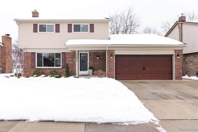 7520 Emerson Drive, Canton Twp, MI 48187 (MLS #2210011557) :: The Toth Team