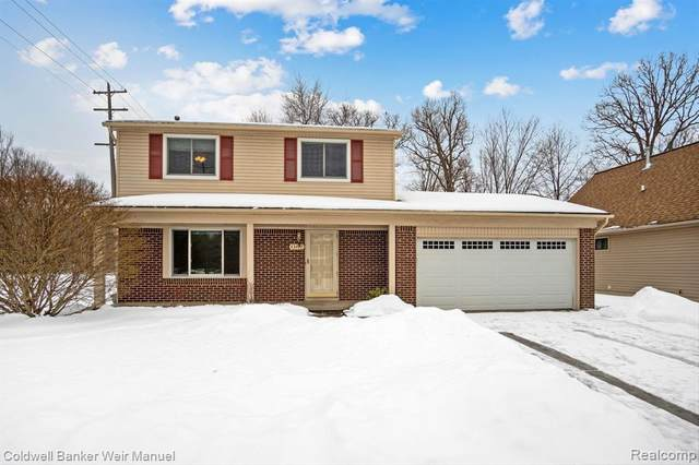 43417 Proctor Rd, Canton Twp, MI 48188 (MLS #2210011671) :: The Toth Team