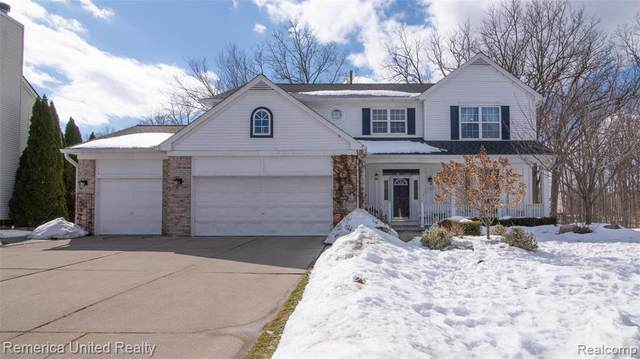 1107 Chestnut Lane, South Lyon, MI 48178 (#2210012634) :: The Mulvihill Group