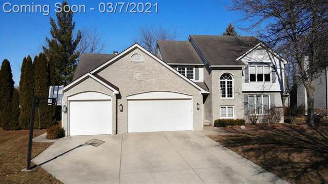 648 Woodhill Drive, Saline, MI 48176 (#543279191) :: GK Real Estate Team