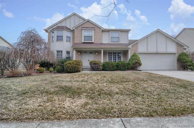 25498 Anthony Drive, Novi, MI 48375 (#2210016429) :: Duneske Real Estate Advisors