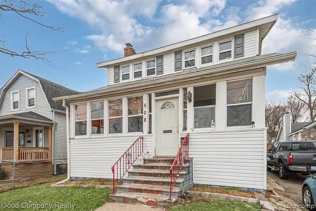 508 E Cesar E Chavez Avenue, Pontiac, MI 48342 (#2210016518) :: Real Estate For A CAUSE